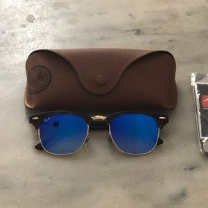 BRAND NEW Ray Ban Clubmaster Remix